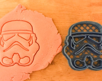 Star Wars Storm Trooper Cookie Cutter/Fondant Cutter/Clay Cutter/baking/starwars/3d printed/Christmas cookies/clay stamp