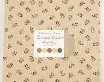 Collection for a Cause - Historical Blenders By Howard Marcus for Moda Fabrics - 1 Layer Cake