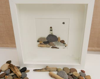 Pebble/Stone Art - 'Light The Way'
