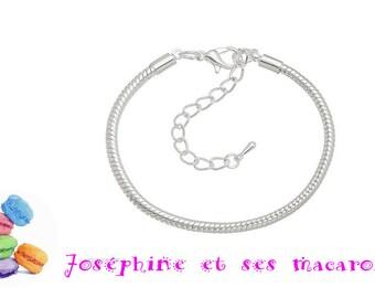 Bracelet 18cm snake chain 1