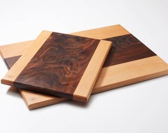 Walnut Crotch Wood, Cutting, Bread Board, Butcher Block
