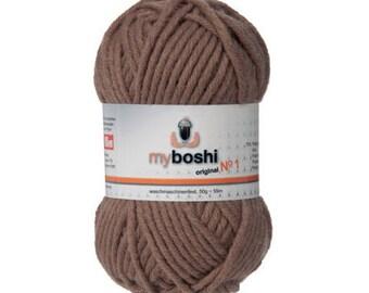 Wool MyBoshi 172 ocher color