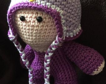 Crochet Amigurumi Doll Lil Owl