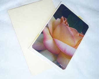 """Double 10 5x15cm made from a photo of a pink pastel """"Rosy tenderness"""""""