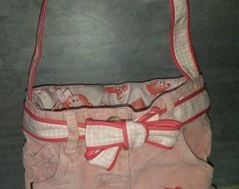 Child shoulder purse