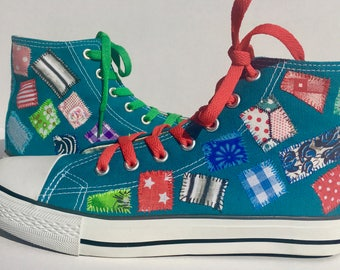 Custom Converse / Custom Chucks / High Tops / Personalised Sneakers / Custom Kicks / Customise Your Own Shoes / Custom Sneakers / Chucks