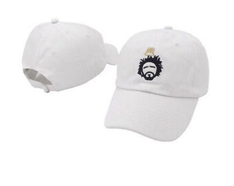 J cole embrodered hat