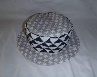 Hat - Reversible bucket Hat - 9-12 months (48.5 cm in diameter)