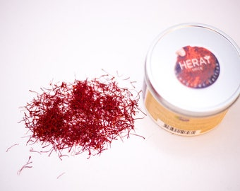 Paella Saffron Threads 0.5 gram, Fresh and Natural, Afghan Saffron