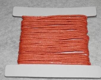 Thread cotton, 5 m x 1 mm Orange