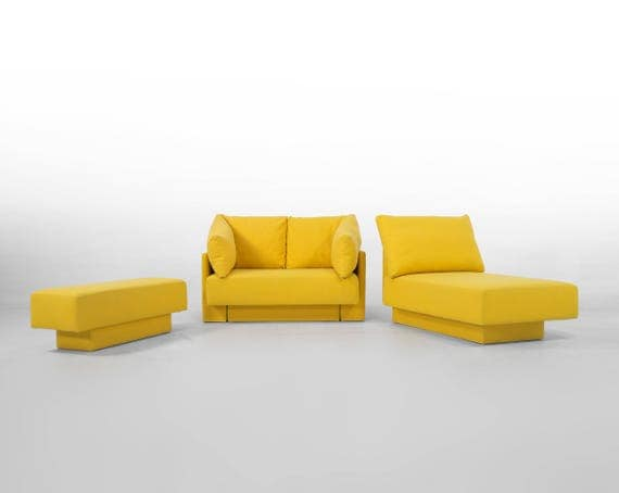 minisofa modular sofa for small spaces daybed guest bed lounger expandable