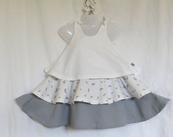 cotton ruffle dress 4t