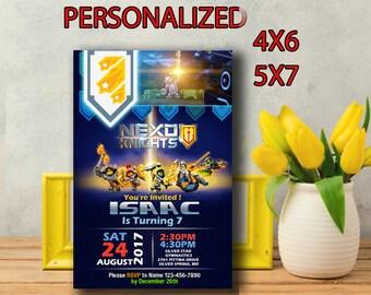 Lego Nexo Knights Invitation,Lego Nexo Birthday,Lego Nexo Knights Party,Lego Nexo Birthday Party,Lego Nexo Printable,Lego Nexo Knights-SL201