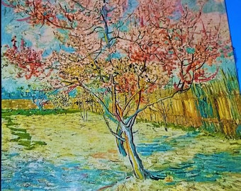 Vintage Sealed 1970 Vincent Van Gogh Trees In Blossom  Jigsaw Puzzle
