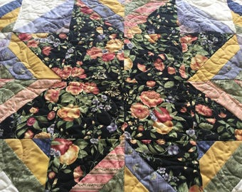 Quilt wall hanging Throw