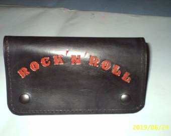 full grain cowhide leather wallet personalized