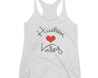 Hudson Valley Heart Tank Top T-shirt Upstate New York Local