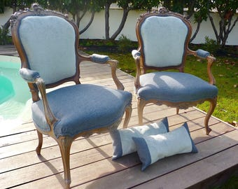 Old convertible armchairs