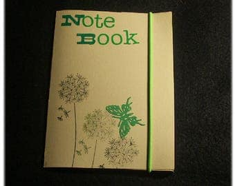 Note book 15 cartter journaling embossed ivory color