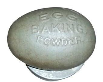Antique Egg Baking Powder Biscuit Tin Cutter