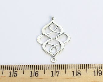 5 Knot Connector Charms - ef00047