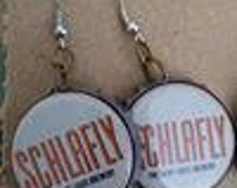 Schlafly Bottlecap Earrings