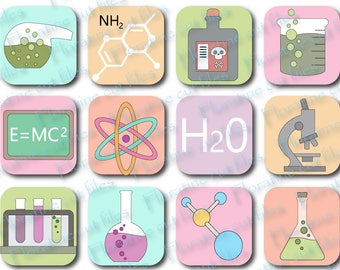 Chemistry svg, chemistry sticker, science fair printable, back to school icon, science fair icon, laboratory icons, scientists project icons