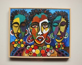 African art | Acrylic painting
