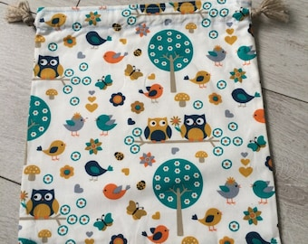 Small pouch on the OWL theme