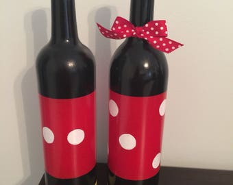 Mickey and Minnie Mouse Bottle set