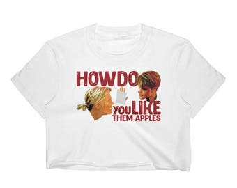 Good Will Hunting - How Do You Like Them Apples Women's Crop Top