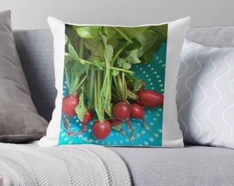 Radish Pillow Cover
