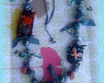 NECKLACE... fabric safe and warm!