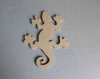 Salamander MDF figure for creative Home Deco