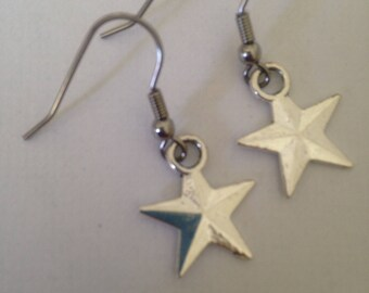 Earrings full star