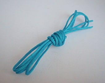 90 cm of cord lace - Color Turquoise