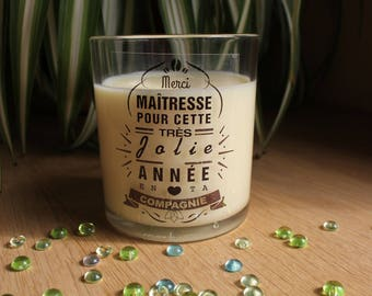 Scented soy wax