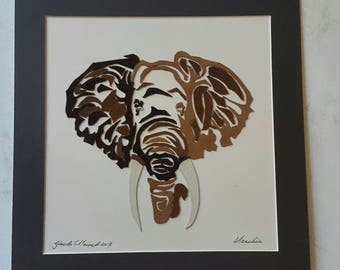 Amarula Elefant made from genuine leather