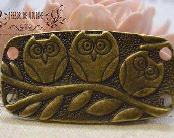 set of 5 QKA032 owl, OWL pendant, manual, jewelry, charms
