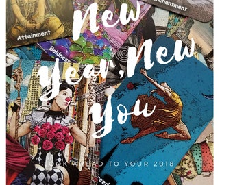 New Year, New You 1 Hour Tarot and Oracle Video Reading