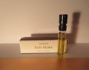 Xerjoff Red Hoba 2ml sample.