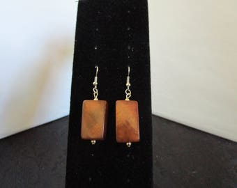 Chocolate Colored Earrings