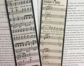 Old Sheet Music Bookmarks