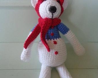 Arthur the Pooh crochet blanket