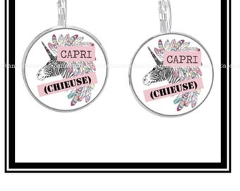 "Earrings ""Capri (bitch)"""