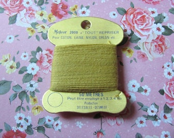 YARN darning METEOR 2000 - yellow 202
