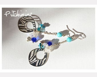 Sterling Silver, different blues and whites