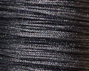 1 M Fil 0.8 mm black (m) ACFI14 black nylon