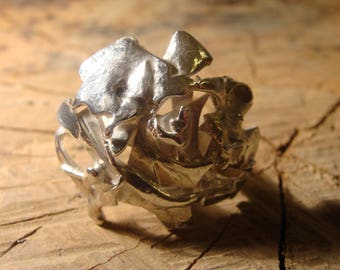 Sterling Silver Sculpture ring