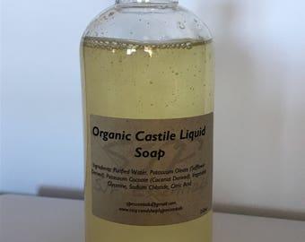 Organic Castile Soap 250ml